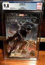 Infinity #3 Black Order IN-HYUK LEE VARIANT 1:75 CORVUS GLAIVE CGC 9.8 NM L@@K