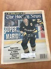 The Hockey News 1996 Pat LaFontaine Patrick Roy SUPER Mario Lemieux