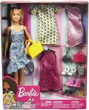 More details for barbie high fashion doll & accessories playset gdj40 brand new & boxed