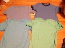 Boys medium solid color T shirts 2 old Navy 2 Starter  fit size 8-10