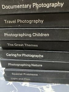 Time Life Photography Books X 8