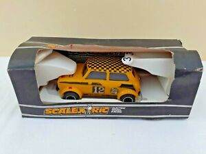Scalextric C052 Mini 1275 G T Rally Special Car Boxed