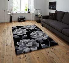 Moderne Wohnraum-Teppiche mit Blumenmuster in Handgetuftet-Herstellung