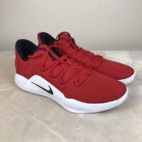 Nike Hyperdunk X Low Men's Size 14 Basketball University Red/White AR0463-600