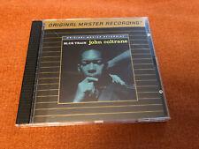 MFSL John Coltrane Blue Train UDCD 547 24 Karat Gold Disc Rare OOP