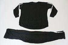 boohoo Women's Maternity Contrast Stripe Lounge Set SV3 Black US:6 UK:10