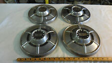 1964-65 Ford Falcon set of 4 dog dish hubcaps