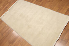 "3'3"" x 6' Hand Knotted Traditional Oriental Wool runner Area rug AOR8524 Beige"