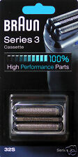 marron scherkopfkassette Cassette 32S Series 3 Argent