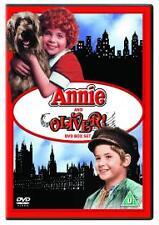 OLIVER TWIST / ANNIE - THE MUSICAL MOVIE FILM DVD NEW