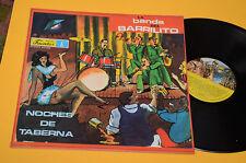 LA BANDA DEL BARRILITO LP NOCHES DE TABERNA ORIG COLOMBIA PRESS TOP EX !