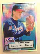 TOM GLAVINE Signed Autographed 2006 TOPPS '52  #381/552 Single AUTO HOF Signed
