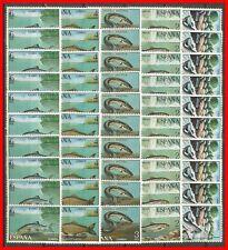 ESPAÑA FAUNA PECES EDIFIL AÑO 1977 NUM. 2403/2407 ** 10 SERIES COMPLETAS