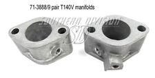 Triumph inlet Manifolds pair Bonneville  71-3338 71-3339 1973-77 T140V 71-3338/9
