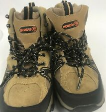 Nevados Mens Hiking Boots Low Hiking Shoe Vulcan Brown Black Size 10.5 Very Nice