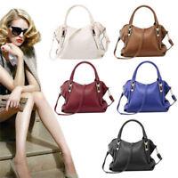 Women Faux Leather Messenger Handbag Shoulder Bags Tote Purse Hobo Bag Satchel