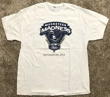 Nwot Xavier Musketeers Ncaa College Basketball Sports T-Shirt Adult Xl