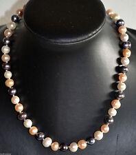 Handgefertigt Modeschmuck-Halsketten & -Anhänger aus Perlen und Gemischte Metallen