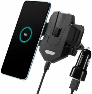 Spigen SteadiBoost Wireless Car Charger with Air Vent Phone Holder (Universal)