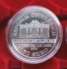 Wiener Philharmoniker 2014 - 1 Unze Silber Münze in Kapsel