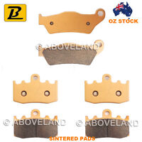 FRONT+REAR Sintered Brake Pads For BMW R 1150 RT Integral ABS 2000-2005 2006