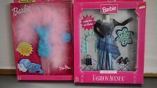 Lot of 2 Barbie Fashion Avenue TREND CITY Outfits Collection NRFB Showboat Boa