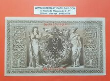 ALEMANIA 1000 MARCOS 1910 billete MBC SELLO ROJO Pick 44 Ro.45 VF REICHSBANKNOTE