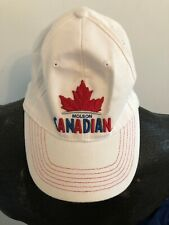 BASEBALL HAT CAP Molson Canadian Beer Fitted Style One Size Fits Most CANADA