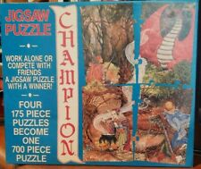 """VINTAGE CHAMPION """"COMPETITION"""" JIGSAW PUZZLE."""