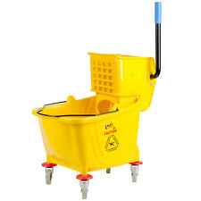 Lavex Janitorial Yellow 36 Quart Mop Bucket & Wringer Combo  *
