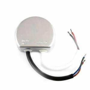 LED Trafo rund Rundnetzteil 12V/DC 20W Wasserfest IP67 Unterputzdose