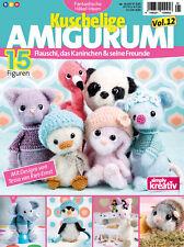 Fantastische Häkelideen KUSCHELIGE Amigurumi Vol. 12 ---  01/2017 --- 15 Figuren