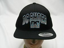 DC Shoes - Negro - BORDADO - SNAPBACK AJUSTABLE gorra sombrero