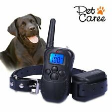 Dog Training Collar Shock Waterproof Receiver with Power Button for Dogs & Cats