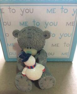 ~ ME TO YOU ~ Tatty Teddy ~ My Snow Buddy ~ Figurine ~ New in Box ~ Christmas ~