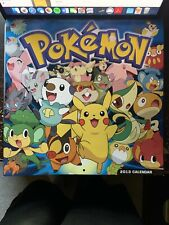 Pokemon 2013 Calendar (No Writing, All Pages Clean, No Tearing)