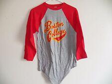 Vintage 80s BOSTON COLLEGE 1980's Raglan Baseball Jersey t-Shirt B.C. Eagles NEW