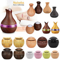 130/400ML LED USB Ultrasonic Air Humidifier Aroma Essential Room Oil Diffuser