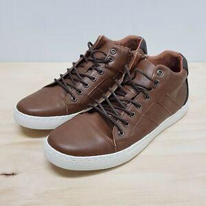JOHNNY BIGG Mens Size US 11 or UK 10 / EUR 44 Tan Vincent High Top Shoes NEW