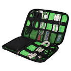 USB Flash Cable Organizer Digital Drive Earphone Data Line Storage Case Bag