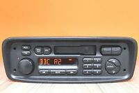 PEUGEOT 206 PHILIPS CASSETTE TAPE RADIO PLAYER CAR STEREO CODE 22RC200/65S