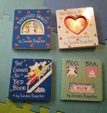 Sandra Boynton Children's Books 4 total
