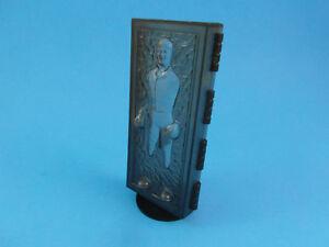 POTF- Last 17- Han Carbonite Display Stand (stand only)- Star Wars Kenner- BLACK