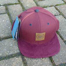 King Apparel Starter Snapback Maroon hat brand new