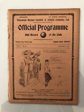 More details for tottenham v music hall artistes 1912/13 **very rare**  (vol v no 38)