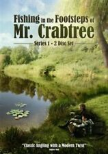 Fishing in The Footsteps of Mr Crabtree DVD Discs 2 Movies UK SELLER