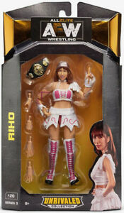 AEW All Elite Wrestling Unrivaled Collection Series 3 Riho FREE SHIPPING