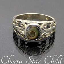 childs small cross flower adjustable Solid sterling 925 silver toe ring