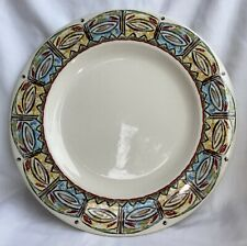 """Vintage Syracuse Restaurant China Island Cool 12"""" Dinner Plate Made In USA"""
