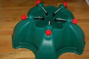 christmas tree stand large green plastic tree holder 21 inches